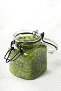 Fresh Garlic Pesto