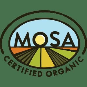 MOSA Organic Certificate