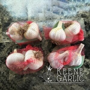 1lb Variety Garlic Pack Keene Garlic