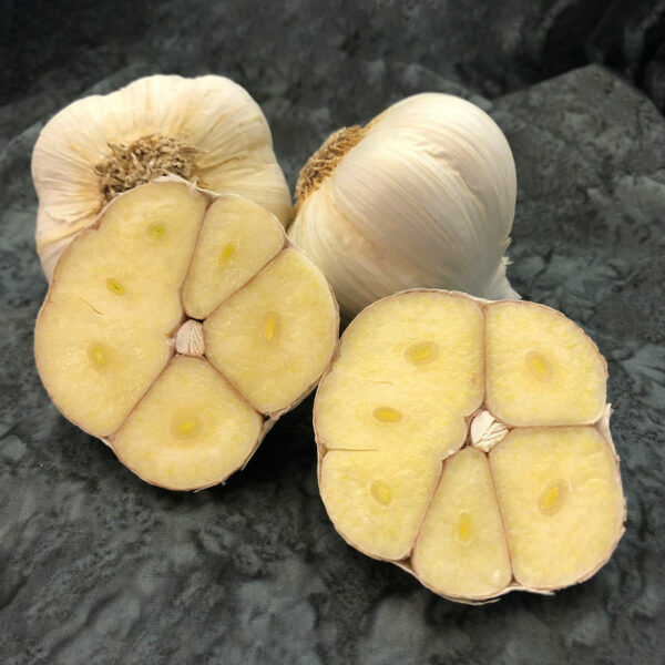 Romanian Red Sliced Keene Garlic