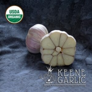 Vietnamese Red Organic Keene Garlic Bulb