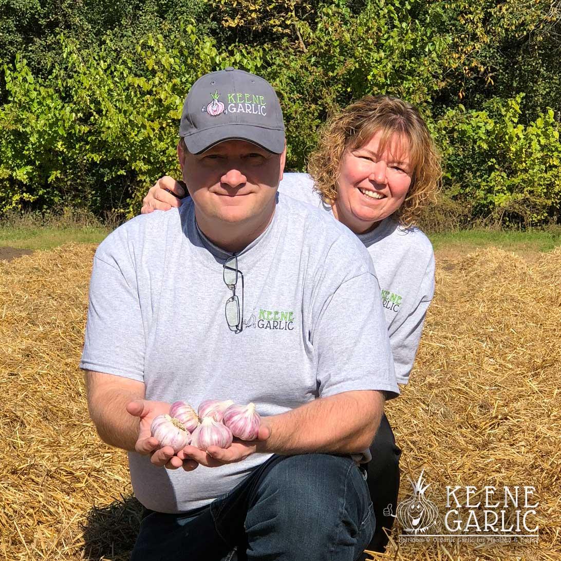 Keene Garlic Keene & Cindy