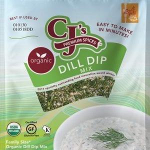 Organic Dill Dip Mix