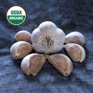 Georgian Crystal Certified Organic Garlic Bulbs