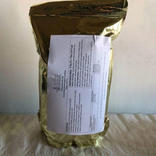 Organic Garlic Fertilizer