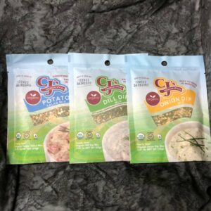 Dip Mix Variety Pack Organic Potato Salad Mix, Onion Mix, Dill Mix