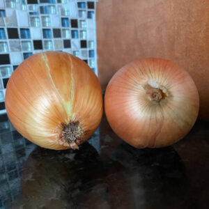 Yellow onions Certified Organic