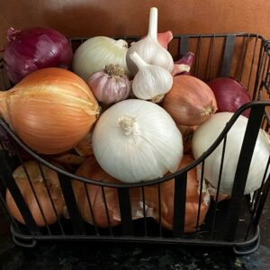 Organic Onion Collection Keene Garlic
