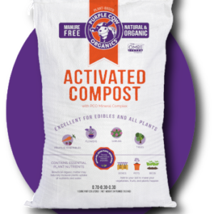 Purple Cow Organics Activated Compost - 1 CF Bag
